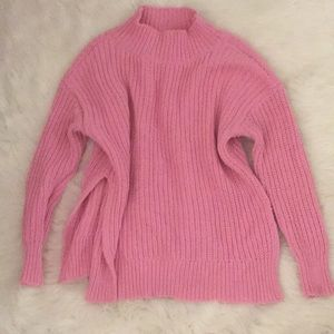 Aerie bubble gum pink sweater